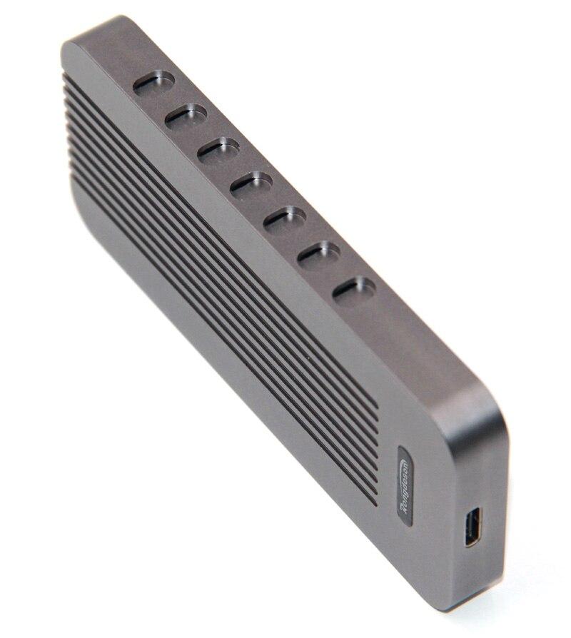 Aluminum NVMe PCIE USB3.1 HDD Enclosure M.2 to USB SSD Hard Drive Drive Case
