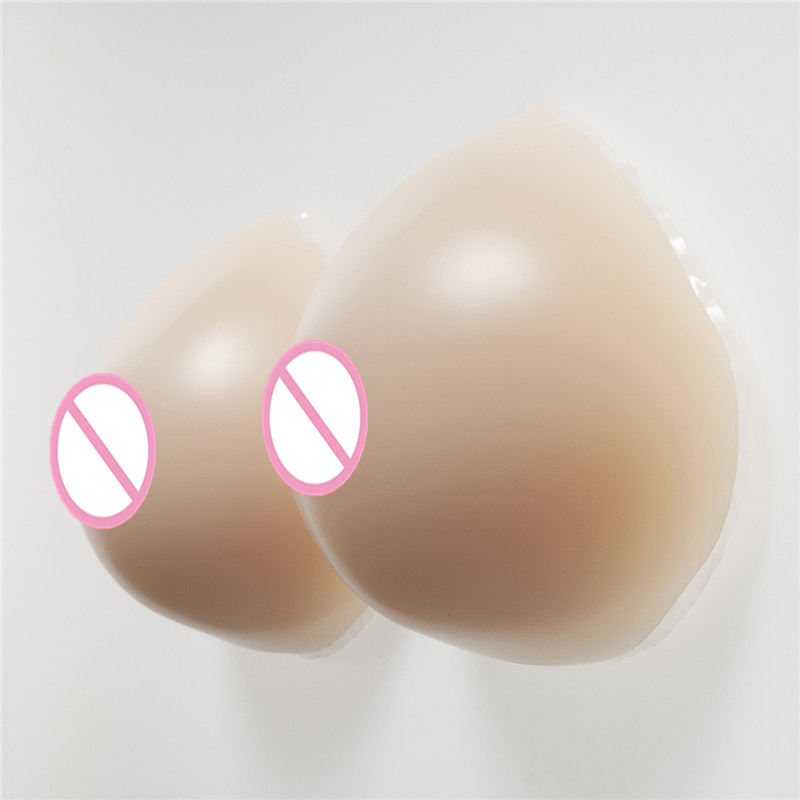Drag Queen Artificial Breast 1200g/Pair Crossdress Silicone Breasts Forms Transgender False Boobs Breasts false breast artificial breasts drag queen silicone breast forms shemale fake boob for transgender and crossdressing 1200g