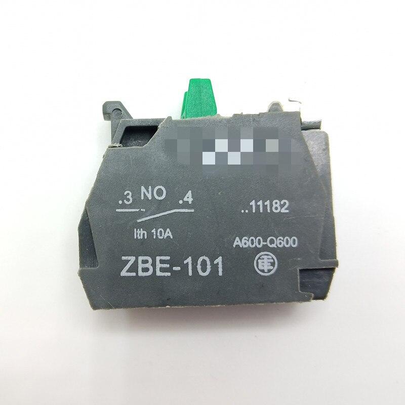 XB2 XB4 кнопочный блок контактов ZB2-BE101C ZB2-BE102C ZBE-101 ZBE-102 НЗ Переключатель связаться с нами - Цвет: Серый