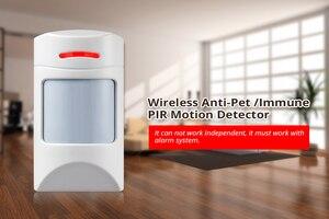 Image 3 - Original KERUI W2 WIFI GSM PSTN Sicherheit Alarm System Smart Home RFID Disalarm Niedrigen batterie Anzeige Einbrecher Alarm System