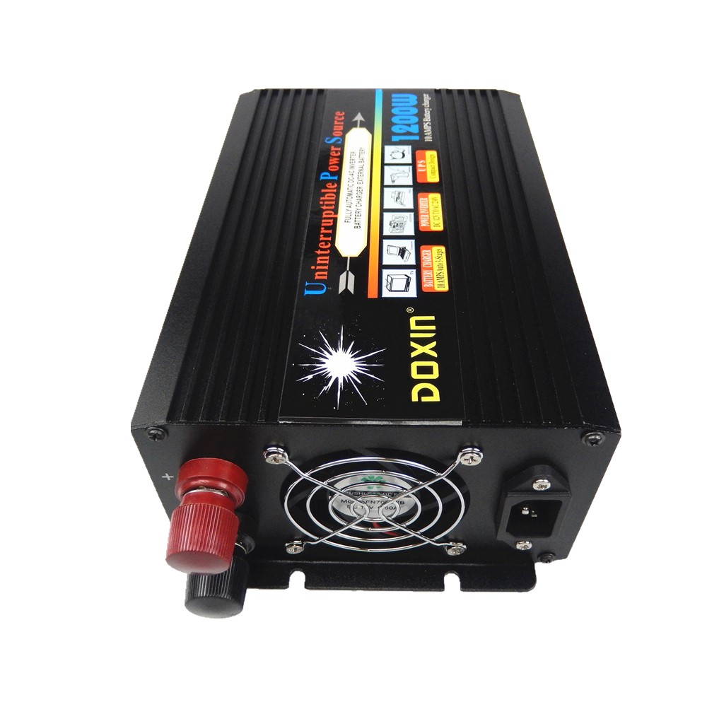 1200W modified wave UPS Power Inverter With Charging battery function DC12v to AC220V 50HZ or DC24v to AC220V 50hz continous power 1000w ups power inverter dc12v 24v to ac220v 50hz modified sine wave inverter with battery charger ups function