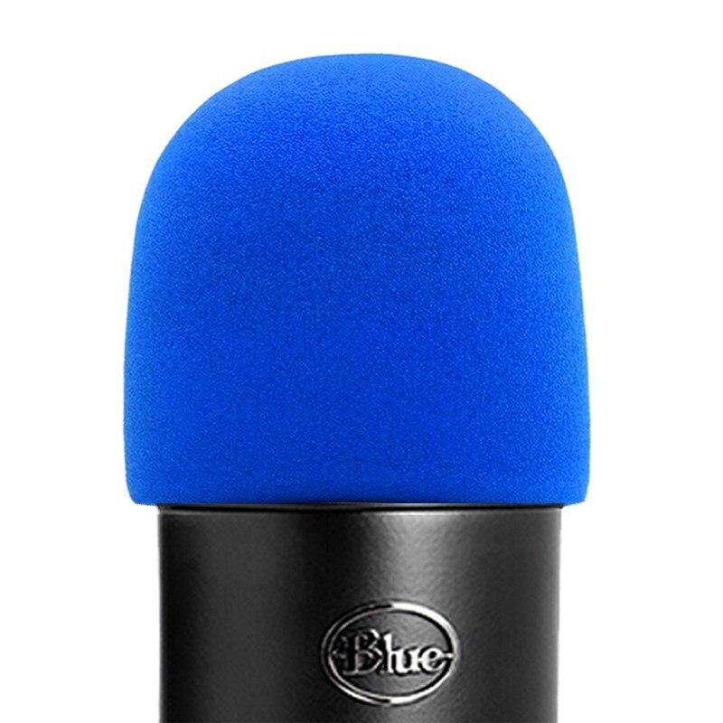 SHELKEE Schaum Mikrofon Windschutz für Blau Yeti, yeti Pro kondensator mikrofone-als pop filter für die mikrofone blau