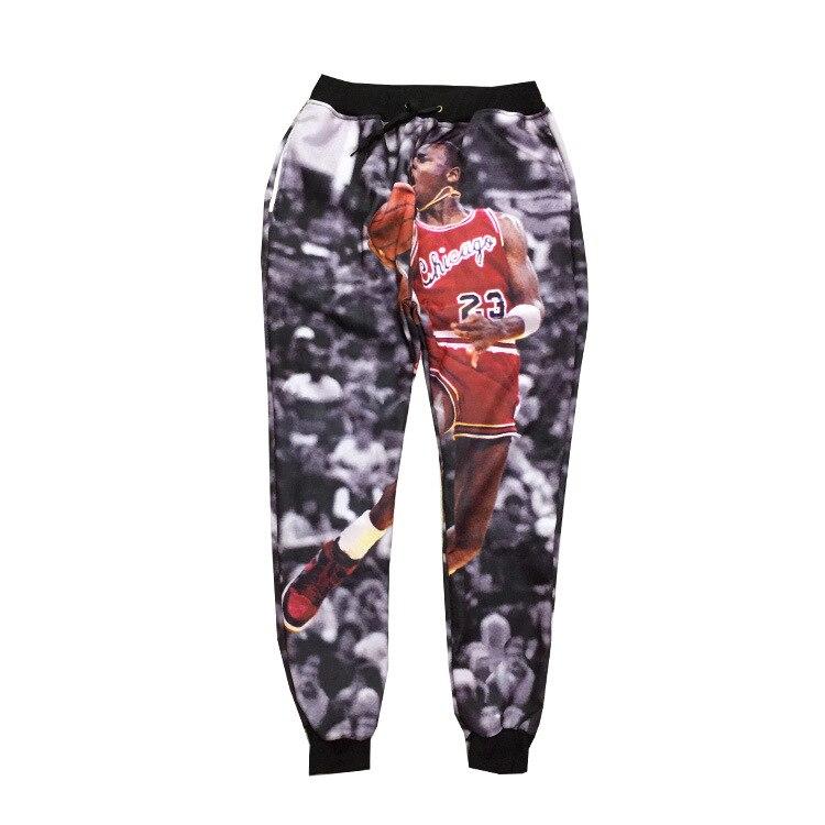 64402ba2355f51 2015 New 3D Trousers Michael Jordan Classic Play Basketball Graphic ...