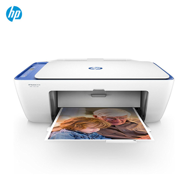 Imprimante azul couleur Impresora HP DeskJet 2630 (AiO, Inyeccion de tinta termica, 4.800x1.200 DPI, 60 hojas, A4)