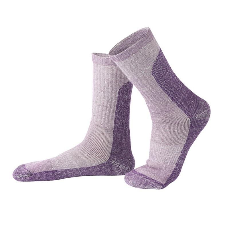 1 пара/лот Для мужчин/Для женщин профессиональный Носки катания на лыжах утолщаются Утепленная одежда шерсть Носки для девочек дышащий дезо...