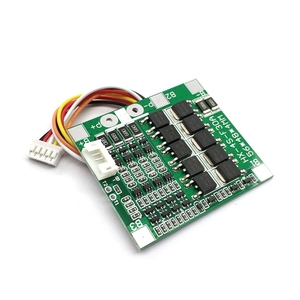 Image 4 - 4S 30A 14.8V Li ion Lithium 18650 Battery BMS Packs PCB Protection Board Balance Integrated Circuits Electronic Module