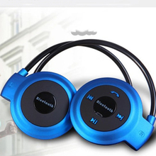 Mini 503 Neckband Sport Wireless Bluetooth Earphone Handsfree Stereo Headset With MIC Earphones Support TF Card for Mp3 Player