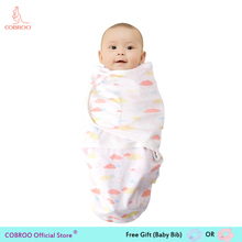 Baby Blanket 0-6 moths Adjustable Newborn Baby Cotton Swaddle Wrap Parisarc Blanket Sleepingpack baby Blanket Swaddling YP120053