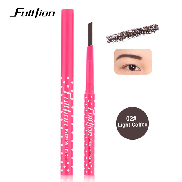 Eyebrow Pencil Longlasting Waterproof Eyebrow Liner and Eye brow Shaping Stencils  4