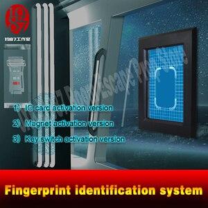 Image 5 - Parmak izi tarayıcı prop kaçış odası bulmaca akıllı ekran parmak İzi tanıma sistemi tarama parmak izi kilidini JXKJ1987