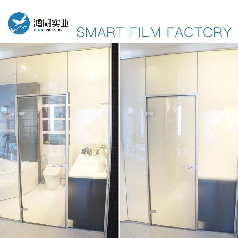 Film intelligent électronique PDLC 60x100 cm Film intelligent commutable PDLC Film intelligent électrique en verre