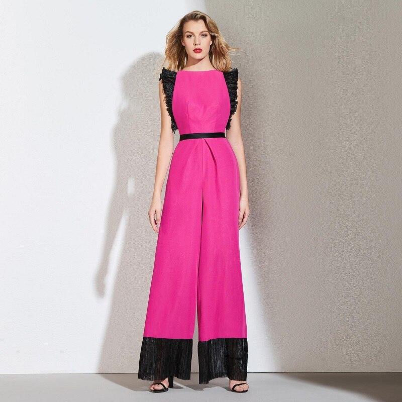 Tanpell jumpsuit prom dresses dark plum short sleeves floor length a line dress women formal evening