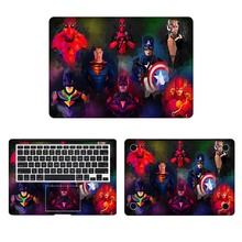 Супергерой комикса ноутбука Стикеры для наклейка на MacBook Pro Air retina 11 12 13 15 дюймов Mac Book защитный полное покрытие Тетрадь кожи