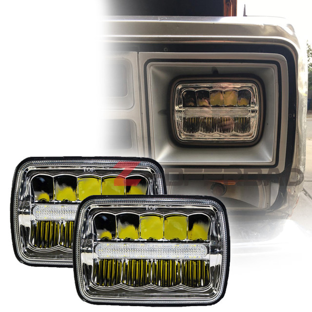 Online Shop Square 4x6inch Daymaker Headlight Led Projector Truck