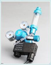 UE Plug220V/110 V pakiet dekompresji tabeli dwutlenku węgla CO2 sprawdzić licznik bubble stałe tabeli Mini elektromagnetyczne podwójny stół