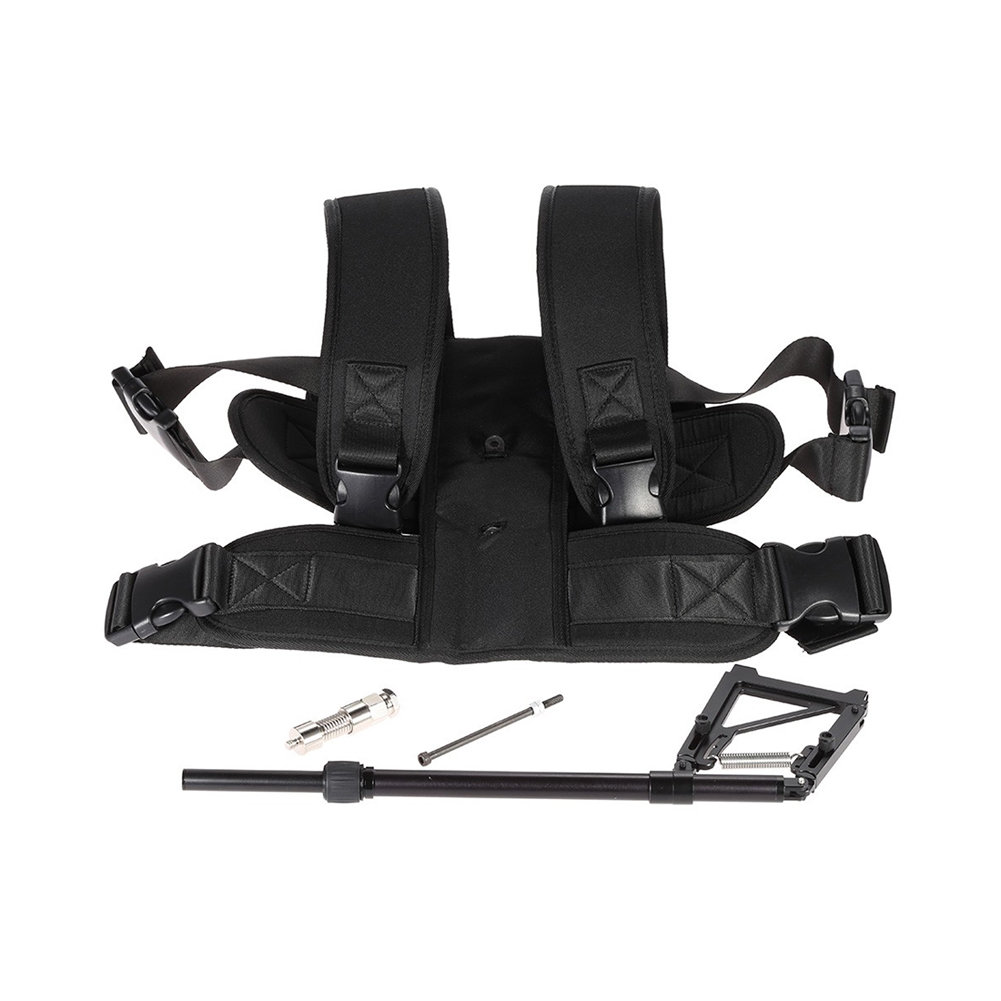Aluminum Alloy Video Photography Studio Stabilizer Kit for Steadycam DSLR Camera DV Camcorder with Load Vest Single Handle Arm fotga hands free shoulder support mount pad video stabilizer for camcorder dv dslr camera light