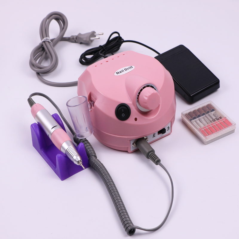 35000RPM Manicure Pedicure Kit Professional Electric File Drill Bit Machine Sand Band Accessory Equipment Nail Art Polisher Tool35000RPM Manicure Pedicure Kit Professional Electric File Drill Bit Machine Sand Band Accessory Equipment Nail Art Polisher Tool