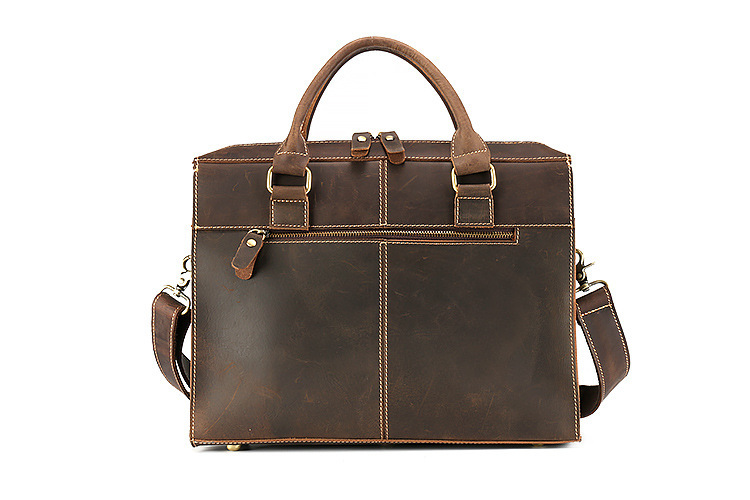 genuine leather briefcase (2)