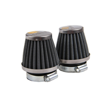 4 Pcs Air Filter 50MM Fit Motorcycle Chrome Power Scooter Cone Race Replace New Free Shipping