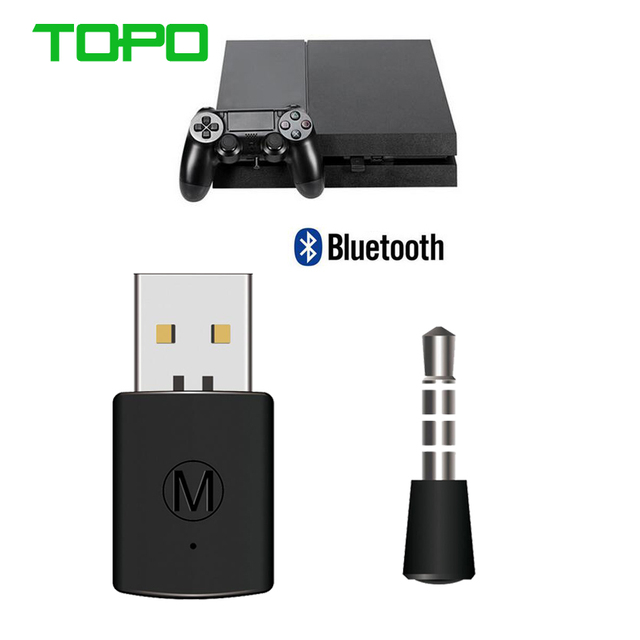 Bluetooth Wireless Headset Headphone Adapter With Mic V4.0 Bluetooth Wireless Adapter PS4 USB Adapter USB Dongle For PS4 Xbox