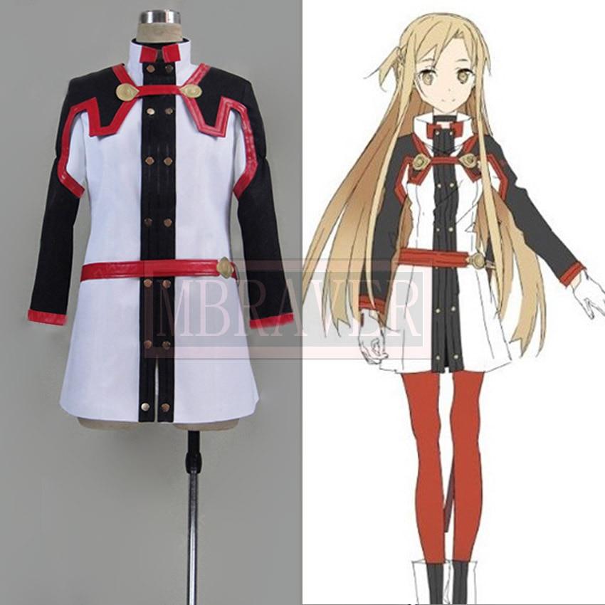 Sword Art Online The Movie Ordinal Scale Asuna Yuuki Cosplay Costume