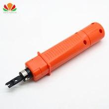 Módulo de cortador de cables, herramienta de cable de doble cabezal para panel de teléfono de voz de red, 110