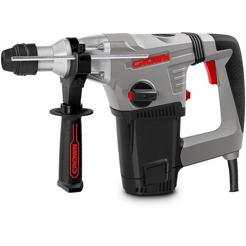 Electric hammer drill CROWN CT18114 BMC power 850 W impact energy 42 J