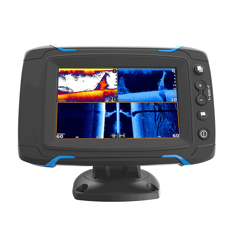 Touch Screen Fish Finder GPS Navigation Marine GPS GPS & Accessories Chart Side Scan Full Scan Sonar Fish Detector Display 9