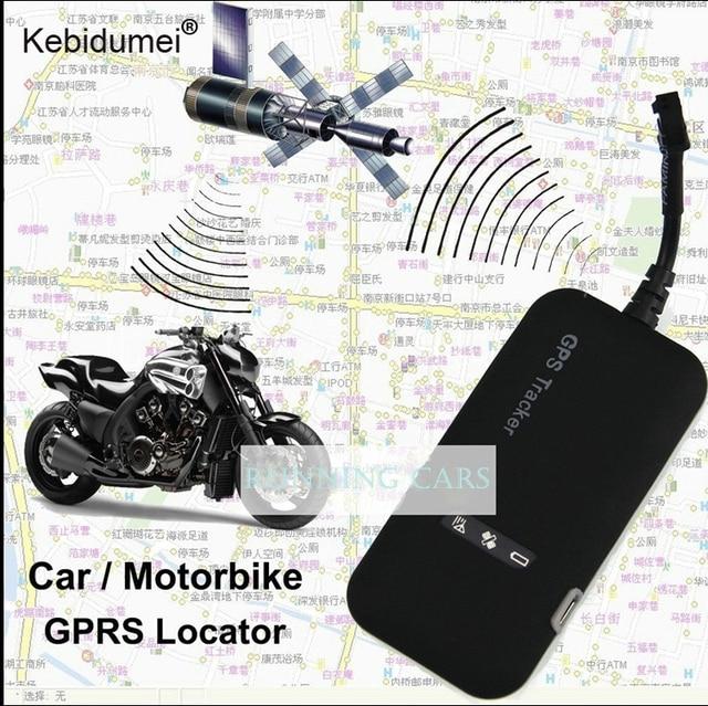 Kebidumei Mini Voiture GPS tracker GT02A En Temps Réel De Voiture GSM GPRS GPS système de Suivi Dispositif De Suivi D'alarme