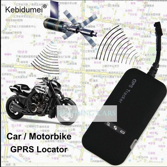 Kebidumei Mini voiture GPS tracker GT02A voiture en temps réel GSM GPRS GPS suivi système d'alarme dispositif de suivi