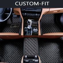 Custom car floor mats for KIA All Models K2/3/4/5 Kia Cerato Sportage Optima Maxima carnival rio ceed car stylingfloor mat