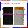 1pcs one world Top quality  LCD  DIsplay  For ALCATEL  OT5038  LCD Display  Screen Tracking Number Code free shipping