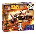 BELA 10370 Star Wars Attack of the Clones Hailfire Droid Exclusivo Compatible Con Lepin Building blocks Juguetes de Los Ladrillos