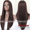 Synthetic Lace Front Wig 99J burgundy brazilian hair Lace front wigs Synthetic Straight Hair braiding hair wig for black women