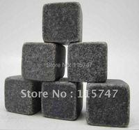 Free shipping! Whisky stones 8pcs/set in velvet bag, 1200pcs 150sets/lot, cooling wine stones, ice cube stones, Christmas gift !