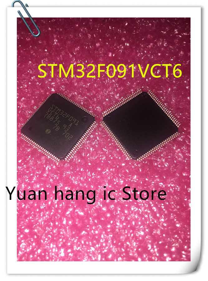 5PCS STM32F091VCT6  STM32F091VC STM32F091 100% New Original