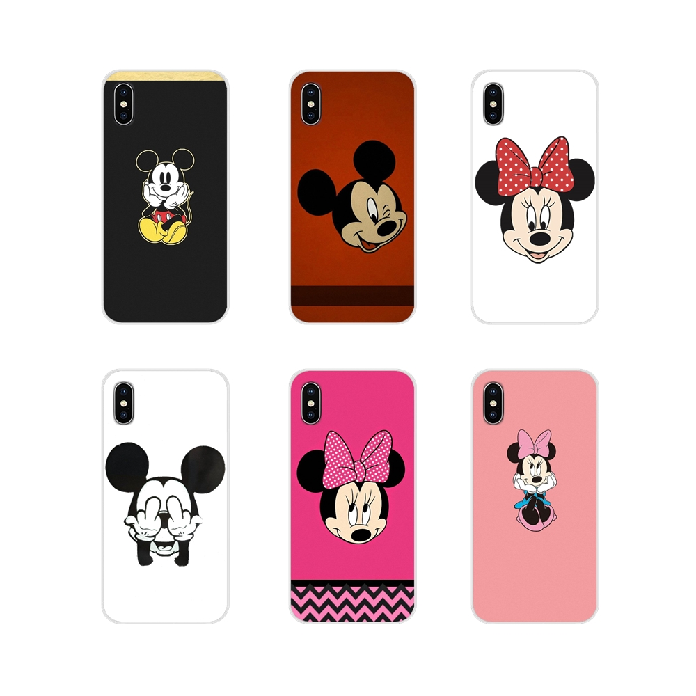 Zubehör Phone Cases <font><b>Covers</b></font> Für <font><b>Samsung</b></font> Galaxy A3 A5 A7 J1 J2 J3 <font><b>J5</b></font> J7 2015 <font><b>2016</b></font> 2017 <font><b>Mickey</b></font> Maus image
