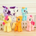 1Pcs 18cm Cute Rainbow Horse Toys Cartoon Toys Hobbies Stuffed Dolls Movie TV Stuffed Plush Animals Little Horse BaoLi Kids Toys