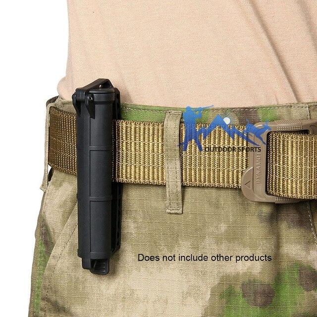 Ceinture accrochante de stockage de batterie de couleur verte de bronzage noir tactique de PPT Airsoft pour le OS33-0218 de chasse de Sport en plein air