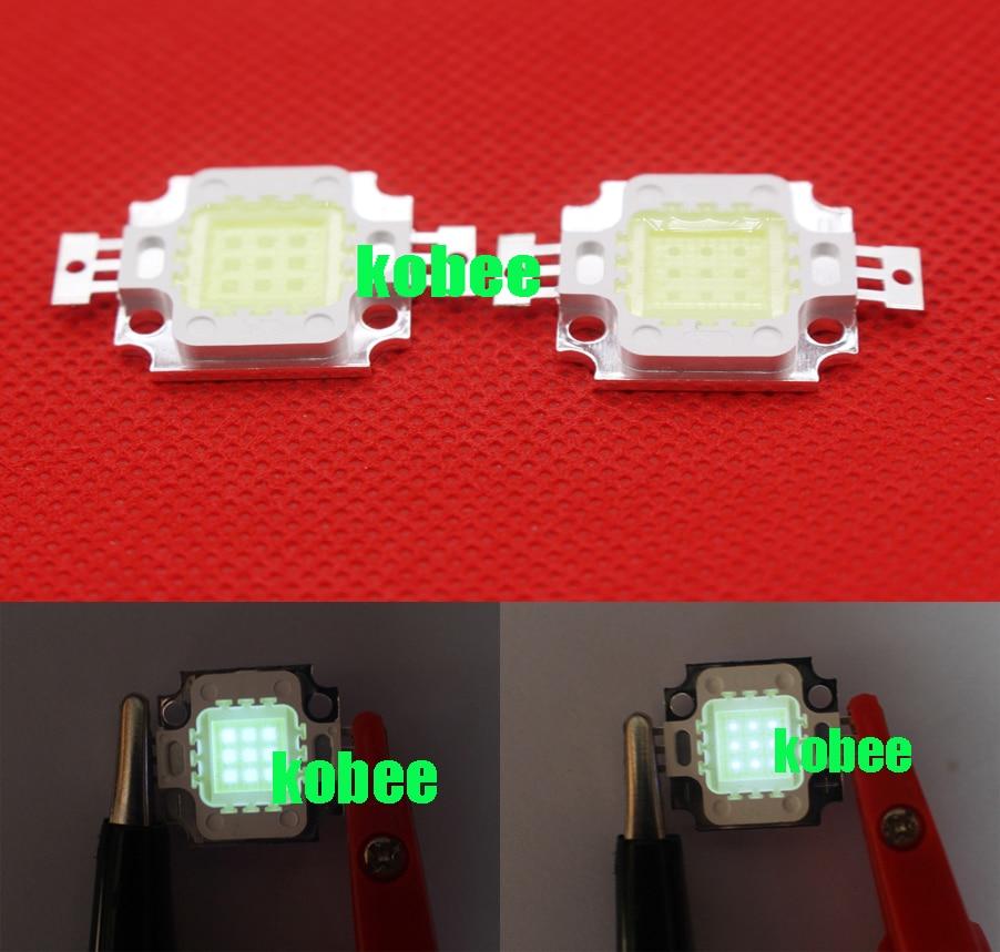 100pcs 10W Warm White 3000K Cold White 6000K 10000K 20000K 30000K  35mil 45mil Square High Power LED Light chip 1000mA 10 13V-in LED Bulbs & Tubes from Lights & Lighting    1