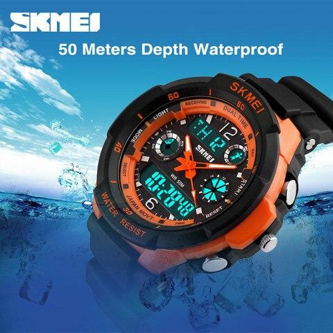 SKMEI Kids Watches Anti-Shock 5Bar Waterproof Outdoor Sport Children Watches Fashion Digital Watch Relogio Masculino 0931 1060 Multan