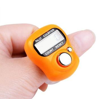 Mini Digital Finger Hand Ring Numbers Clicker Golf Timer Counter Creative Kitchen Cooking Tool LX1773
