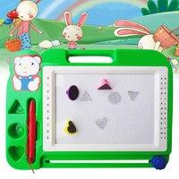 Пластиковая магнитная доска для рисования, Детские доски для рисования, набор для рисования, обучающие и обучающие игрушки, хобби для детей,...
