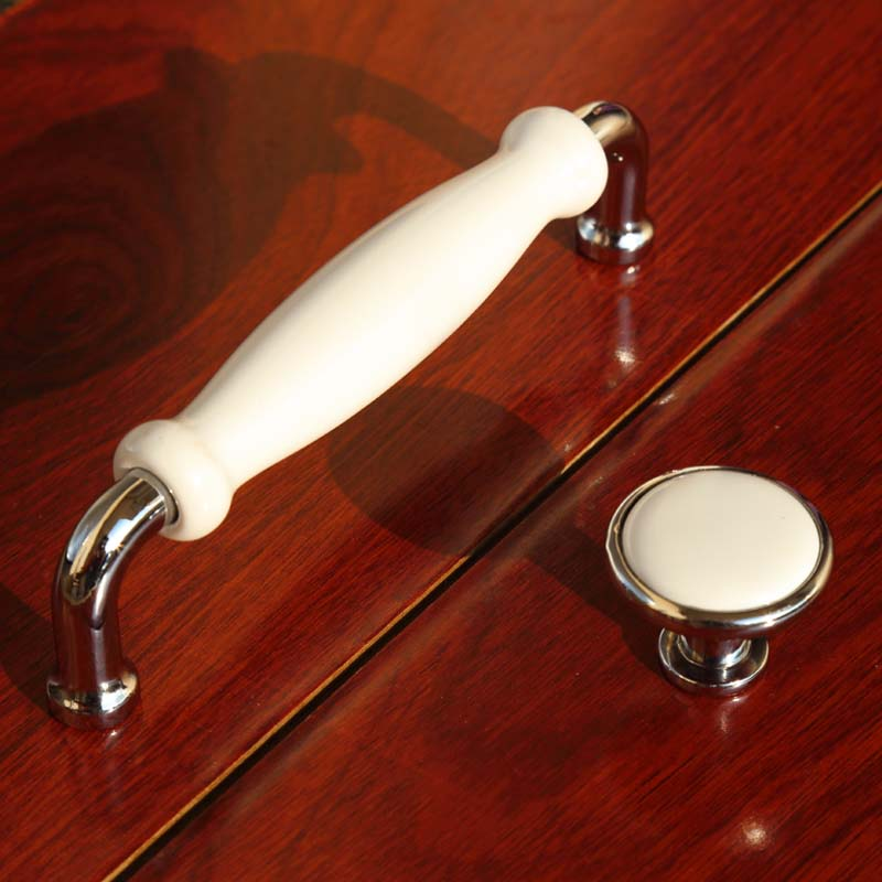 128mm modern simple silver white kitchen cabinet dresser door handles 96mm chrome tv table drawer shoe cabinet knobs pulls 5 5 silver white dresser kitchen cabinet door handles knobs silver black drawer cupboard knobs pulls 160mm modern simple handles