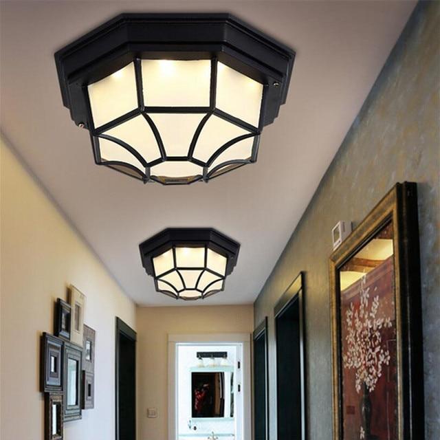 Ottagonale Moderne plafoniere a led per camera da letto soggiorno ...