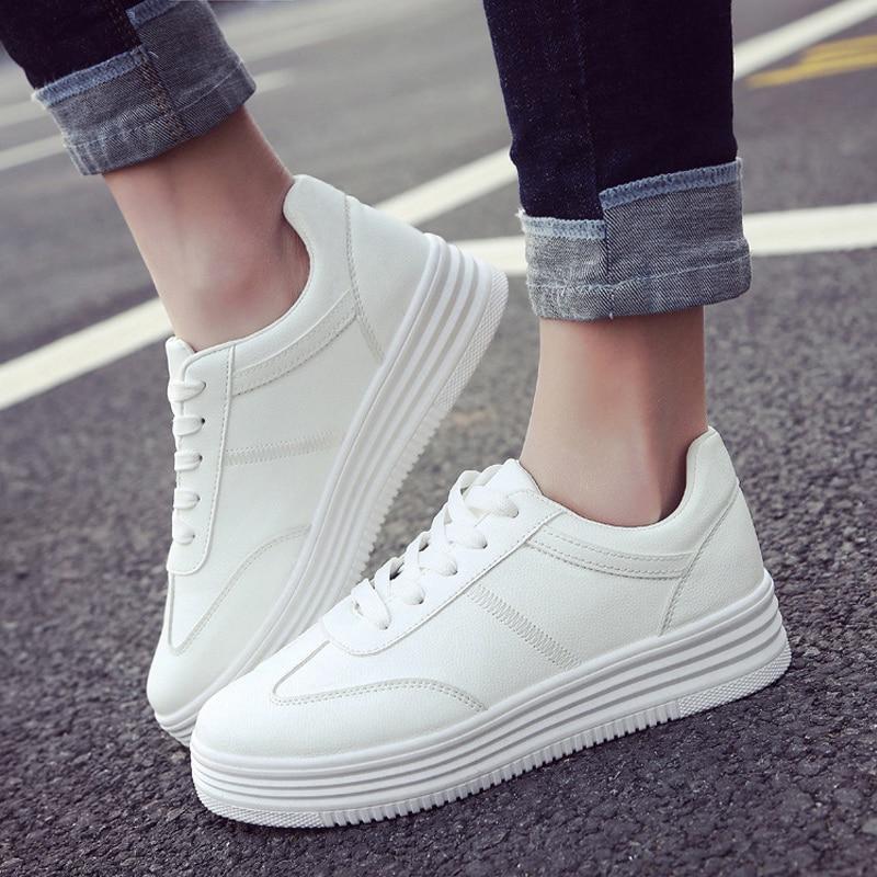 Quanzixuan 2018 New Sneakers Shoes Women Vulcanize
