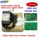Top Sale For Volvo Vida Dice 2015a Add Cars To 2019 Obd2 Car Diagnostic Tool 2014d Vida Dice Pro Full Chip Green Board Free Ship