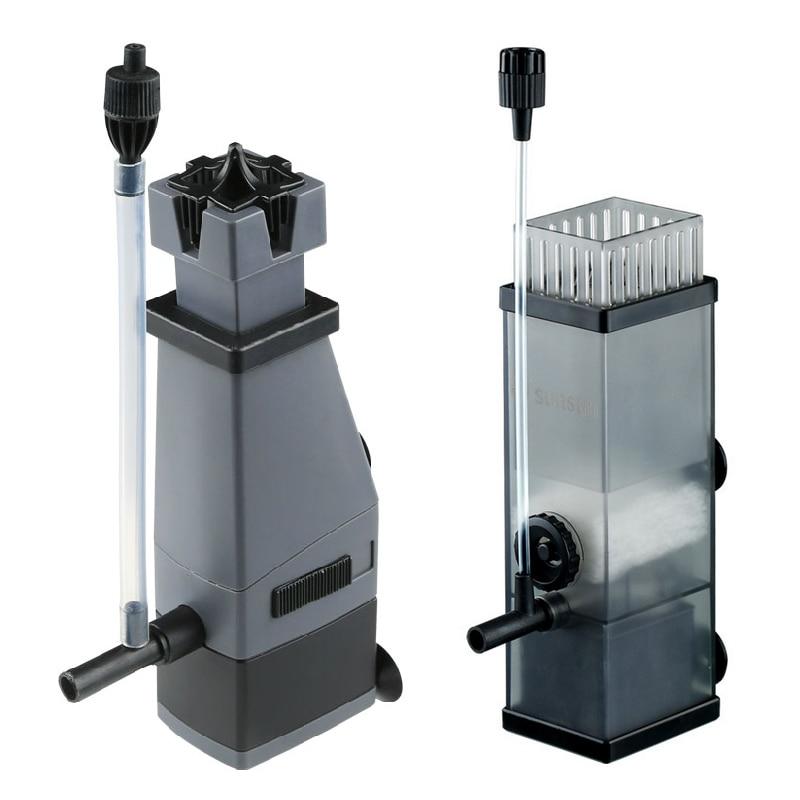Sunsun Aquarium Surface Protein Skimmer 3W 5W 220V Oil Film Processor Remover Fish Tank Filter JY02 JY03 1
