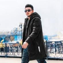 Зимняя Новинка 2018 Мужская Толстая хлопковая одежда большого