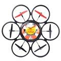 Moda 2 Cores Pronto-tp-ir WLtoys Headless Hexacopter Voando Disco Voador 2.4G 6-Axis Gyro Controle Remoto Brinquedo pires Drone
